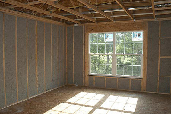 Efficiency insulation drafts